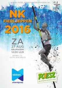 Flyer NK Fierljeppen 2016